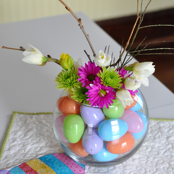 Simple Easter Egg Vase- Jacquelynne Steves