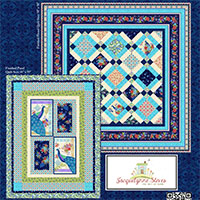 kashmir fabric line peacock free project sheet jacquelynne steves