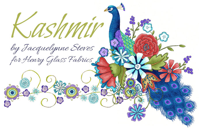 Spring Quilt Market 2013: Kashmir Fabric Line