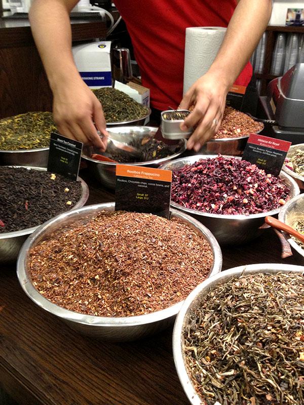 NYC ChelseaMarket tea spice shop