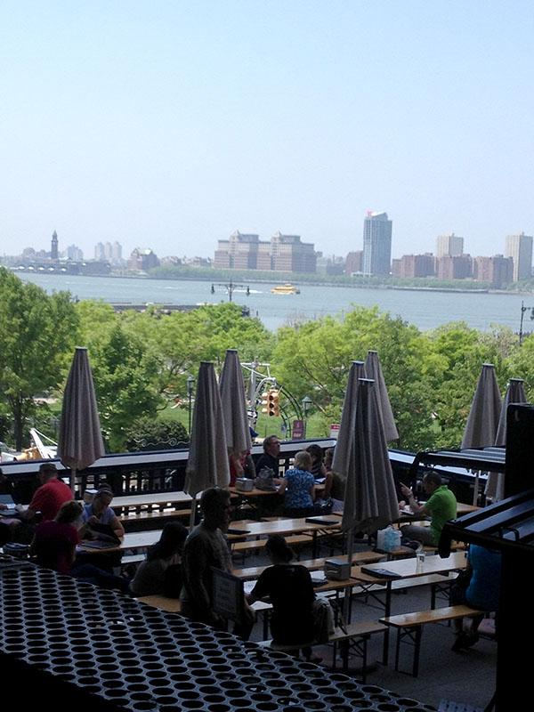 NYC HighLine park hudson river ferry