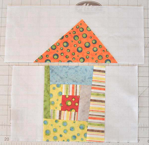 Wonky House Quilt Block Tutorial Jacquelynne Steves