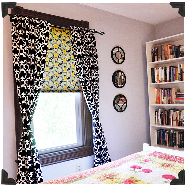 Fabric Covered Window Shade Tutorial Jacquelynne Steves