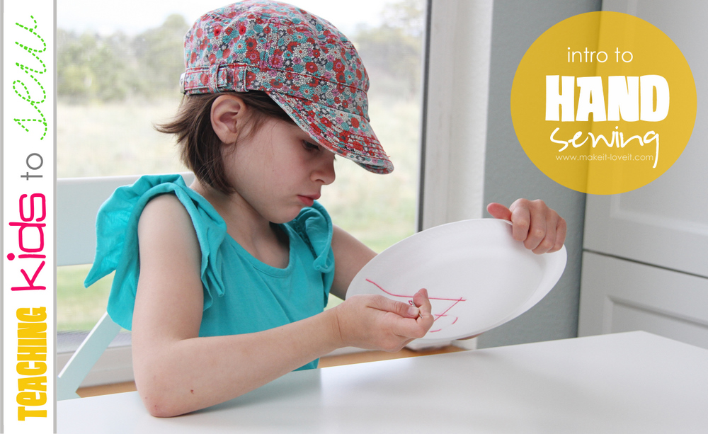 kids Hand Sewing craft