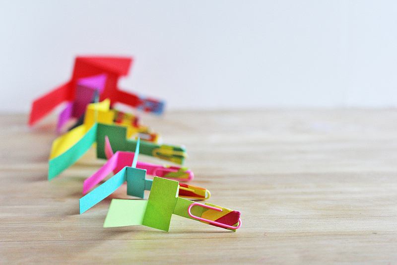 paper Helicopter kids craft