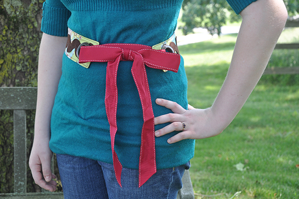 Hippy Chick Fabric Belt Tutorial