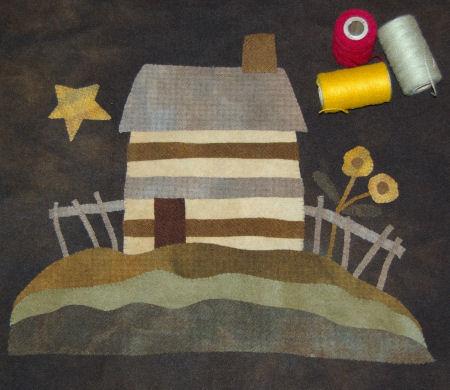 Settler's Pride Maggie Bonanomi wool block of month