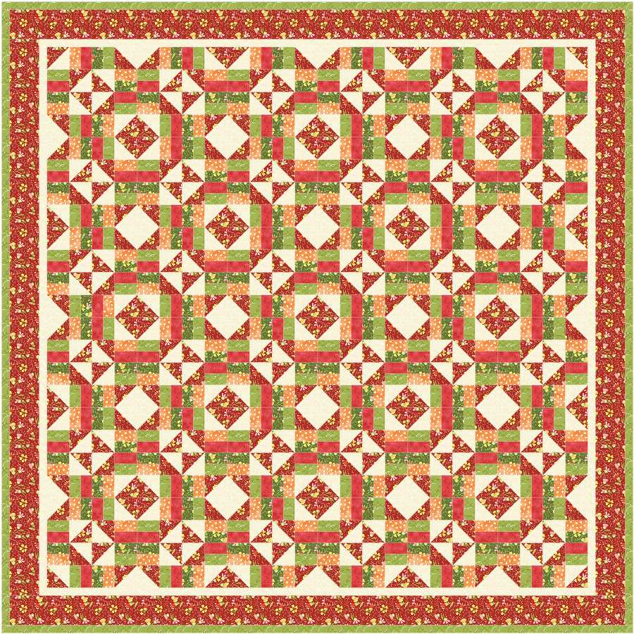 Autumn Jewel Box Quilt Block Tutorial