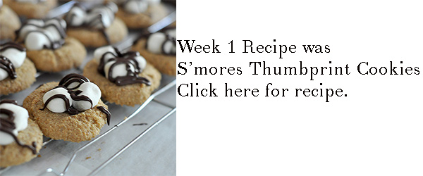 s'mores thumbprint cookie recipe