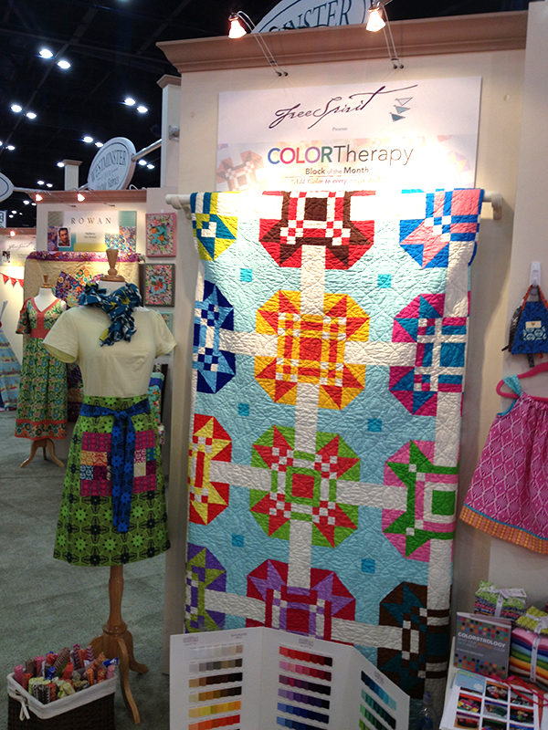 International Quilt Market, Fall 2013, Houston