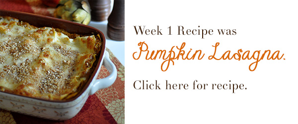 Pumpkin lasagna recipe