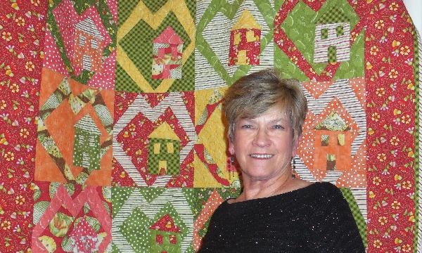Jacquelynne Steves Fruitful Hands Fabric Quilt