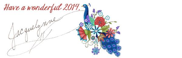 Happy2014_PeacockArt_JacquelynneSteves