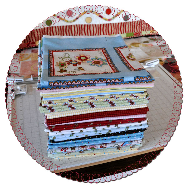Cottage Charm Fabric Jacquelynne Steves for Henry Glass Fabrics
