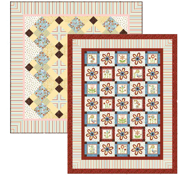 Cottage Charm quilt patterns Jacquelynne Steves