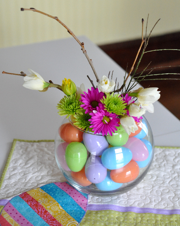 Simple Easter Egg Vase for your spring decor…