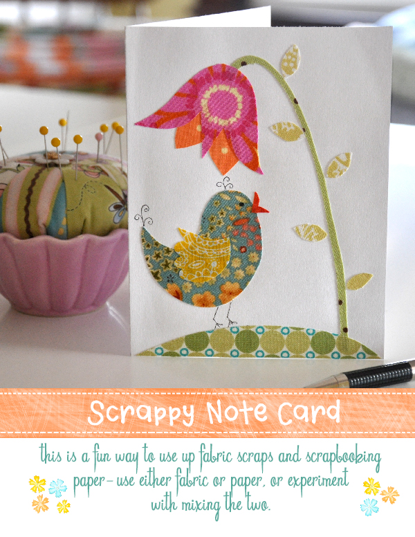 Scrappy Note Card Jacquelynne Steves