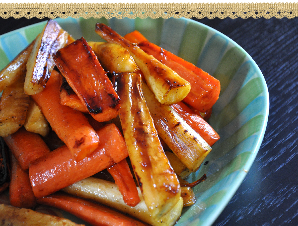 Maple Glazed Parsnips and Carrots Recipe Jacquelynne Steves