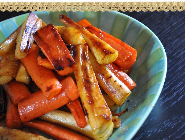 Maple Glazed Parsnips and Carrots Recipe Jacquelynne Steves