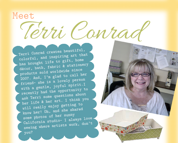Interview with artist Terri Conrad by Jacquelynne Steves