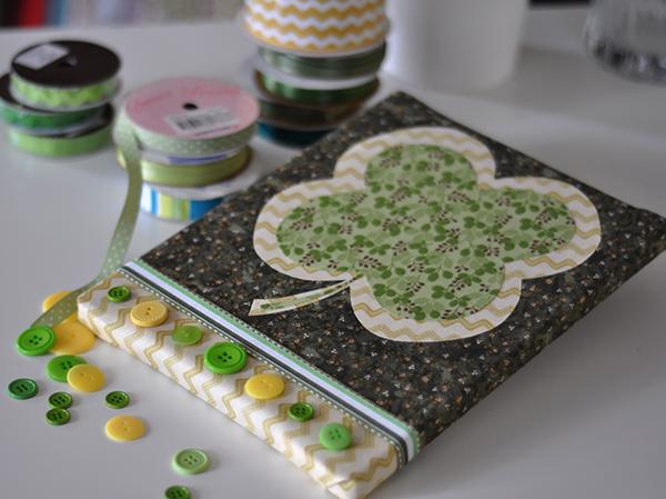 No Sew St. Patrick's Day Fabric Craft