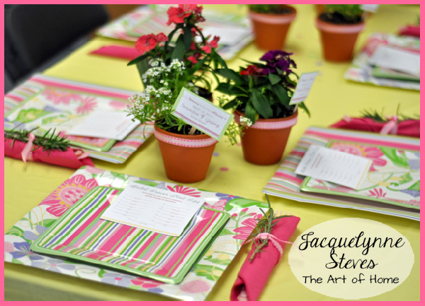 Bridal Shower Decorations for table- Jacquelynne Steves