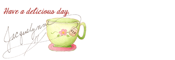 Delicious Day Tea Cup Art- Jacquelynne Steves