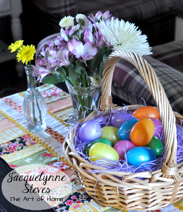 Easter Basket Centerpiece- Jacquelynne Steves