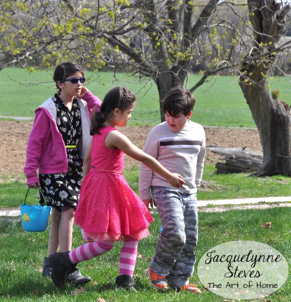 Easter Egg Hunt- Jacquelynne Steves
