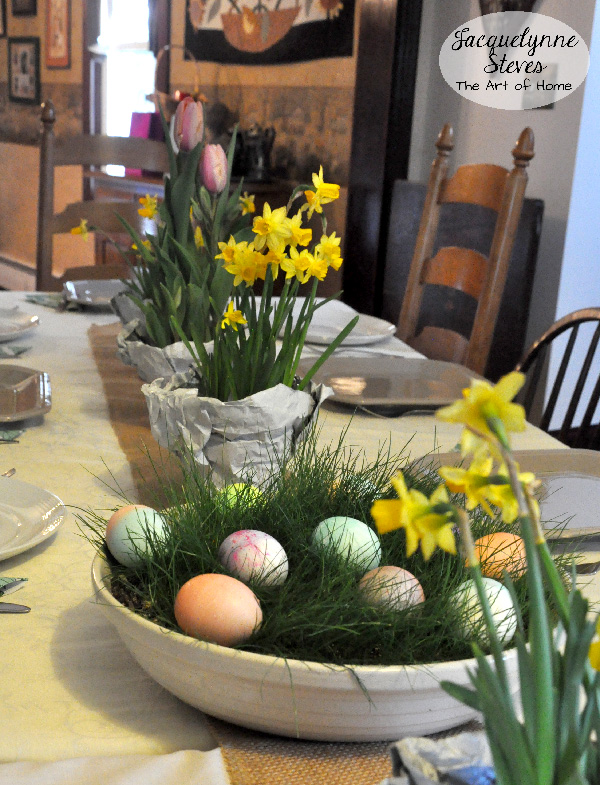 Easy easter decorating ideas jacquelynne steves