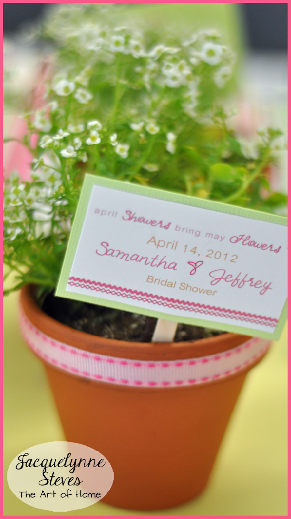 Easy Bridal Shower Favor- Jacquelynne Steves
