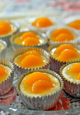 Orange Coconut Mini Cheesecake Jacquelynne Steves