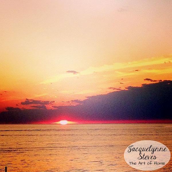 Beach sunset- Jacquelynne Steves