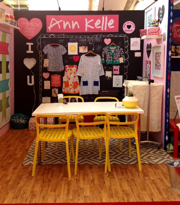 Quilt Market Spring 2014 Pittsburgh- Jacquelynne Steves- Ann Kelle Robert Kaufman Fabrics