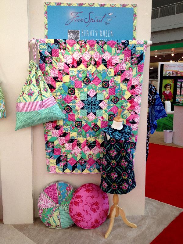 Quilt Market Spring 2014 Pittsburgh- Jacquelynne Steves- Free Spirit