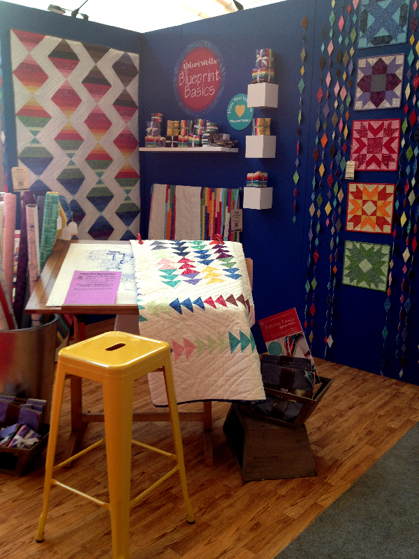 Quilt Market Spring 2014 Pittsburgh- Jacquelynne Steves- Valorie Wells Booth