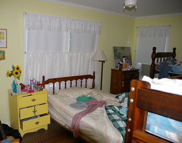 Bedroom Makeover Before- Jacquelynne Steves 3