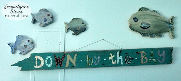 Handmade Beach Wall Art- Jacquelynne Steves