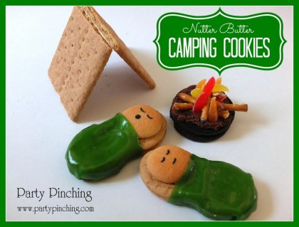 Nutter Butter Camping Cookies