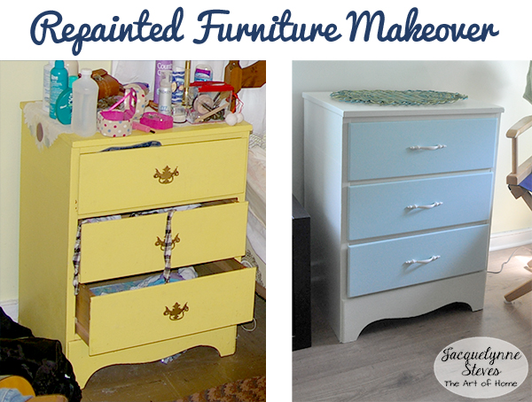 Repainted Furniture- Jacquelynne Steves