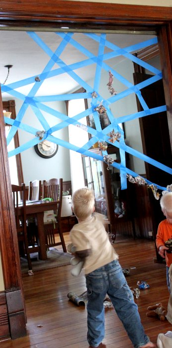 Sticky Web Game for kids