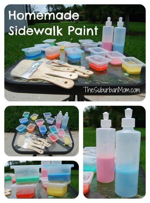 homemade-sidewalk-chalk-paint