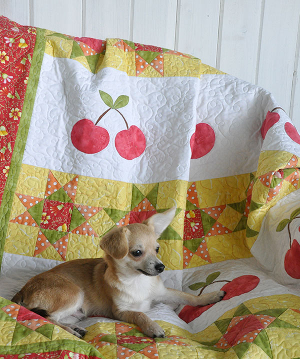 Cherry Quilt Pattern & Pear Quilt Pattern
