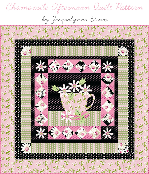 Chamomile Afternoon Quilt Pattern- Jacquelynne Steves