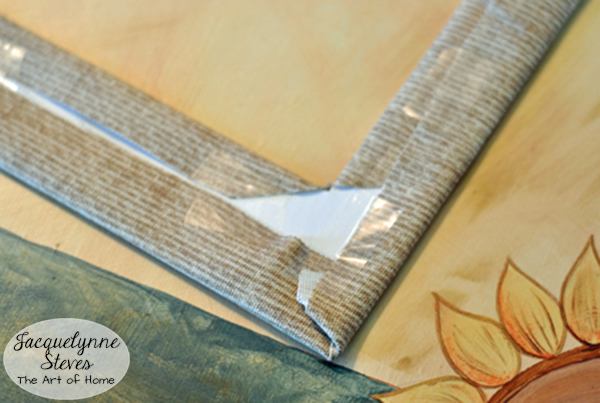 Fabric Covered Photo Mat Tutorial 6-JacquelynneSteves
