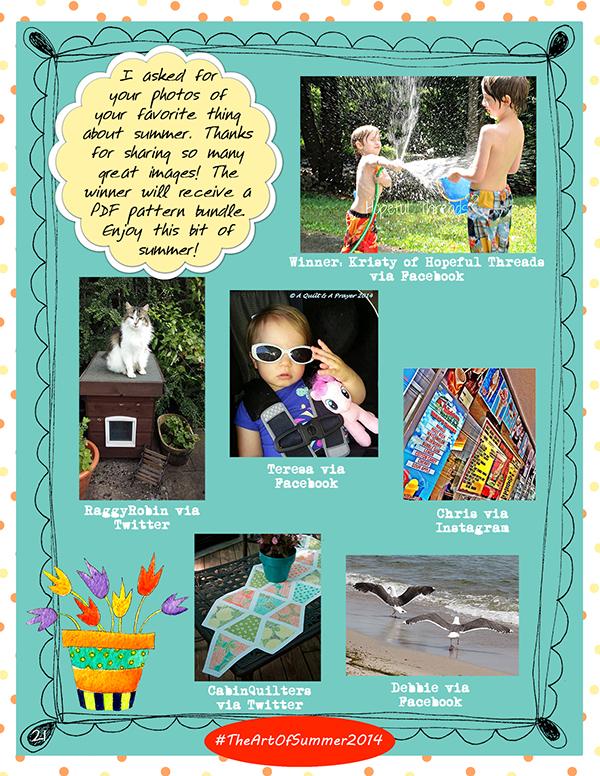 Summer Photo Contest- Jacquelynne Steves