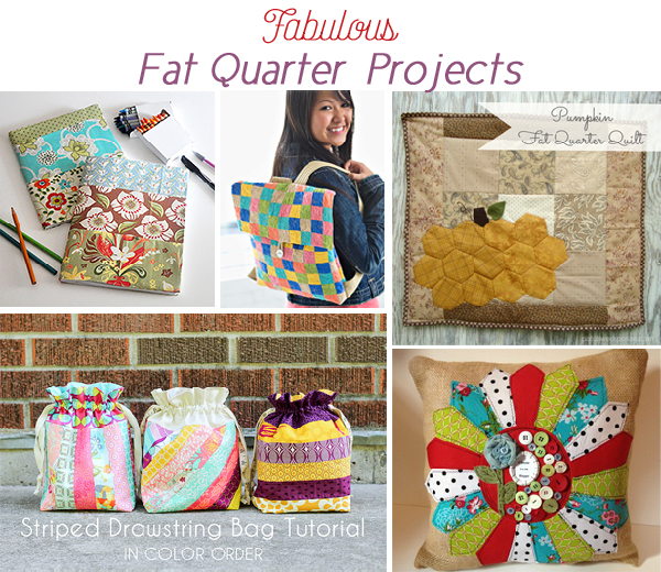 Fat Quarter Project Ideas