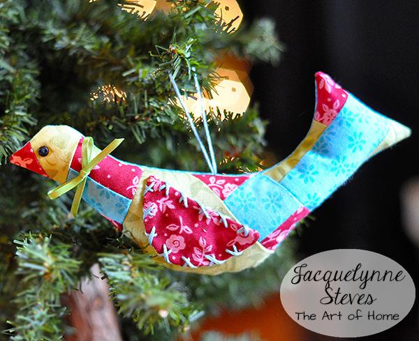 PatchworkBird OrnamentTutorial-Jacquelynne Steves