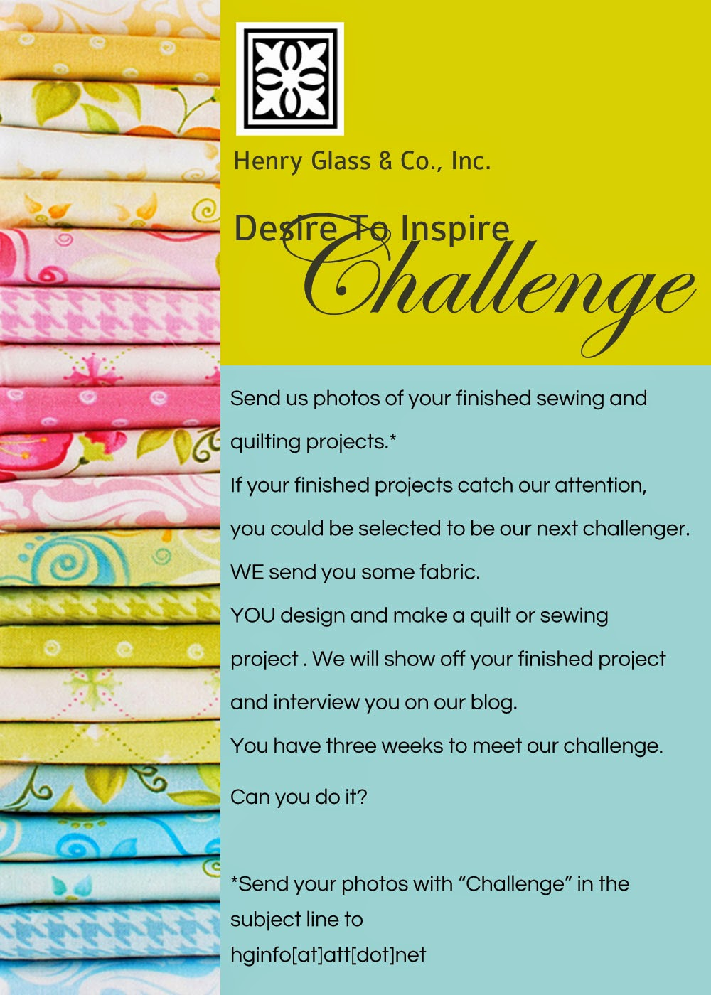 Do you have a Desire to Inspire?? Submit your entry for the Desire to Inspire Design Challenge!