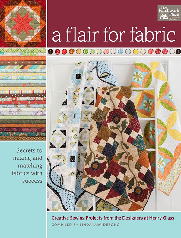 New Quilt Book from Martingale- A Flair For Fabric